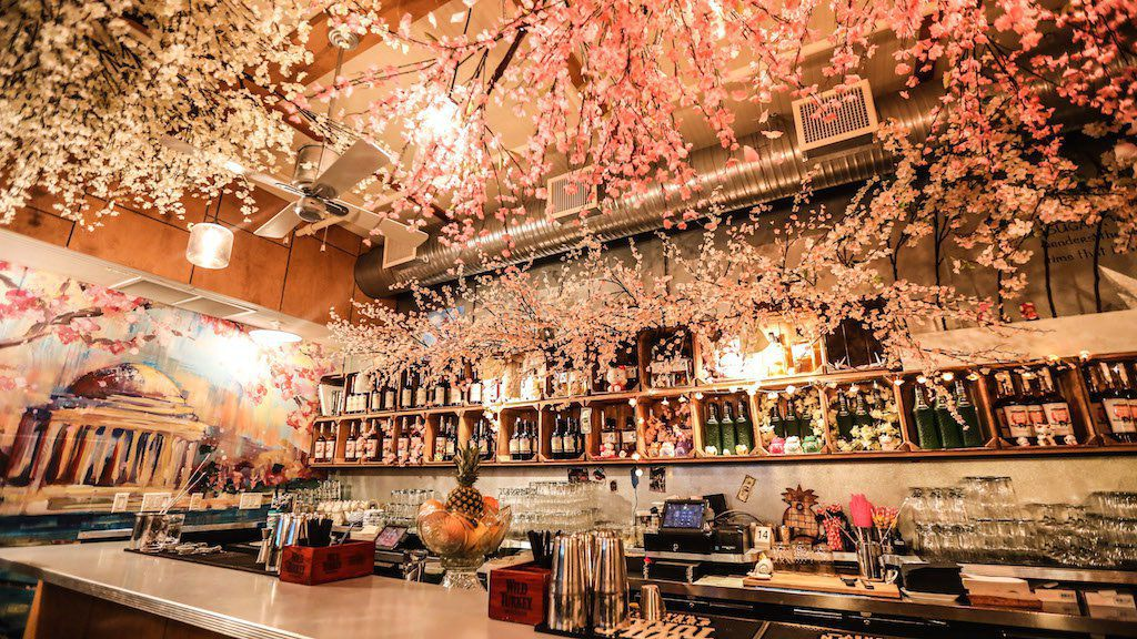 Cherry blossom bar 2