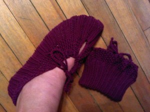 Pocketbook Slippers by Rebecca Diamond