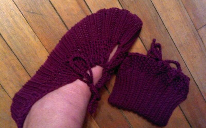 Pocketbook Slippers by Rebecca Diamond