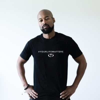 Your-life-matters-tee-black