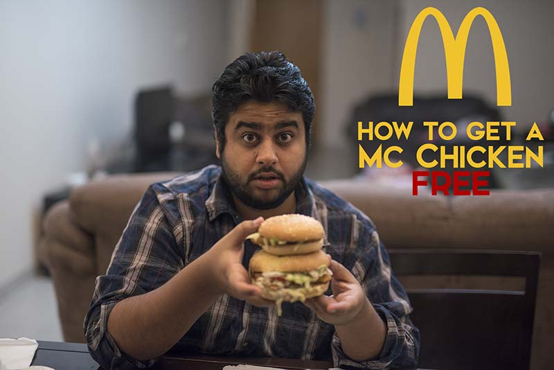 How To Get A Free McChicken Burger in Dubai