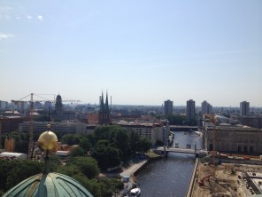 Berlin Germany Travel Pictures Photos Cool Historic Weekly Show Cathedral Spree River Dome View