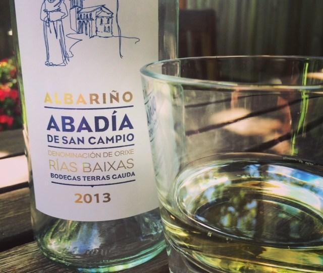 Terras Gauda Albarino Bottle And Glass