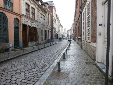 Winding streets of Lille