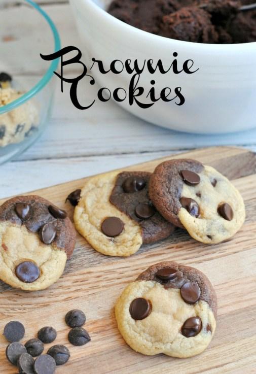 How to Make Brookies: a Brownie Cookies Recipe