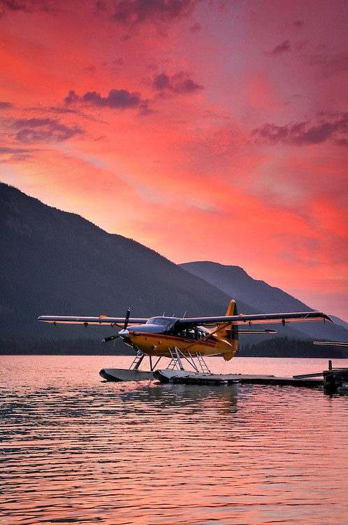 dehavilland-turbine-otter-sunset