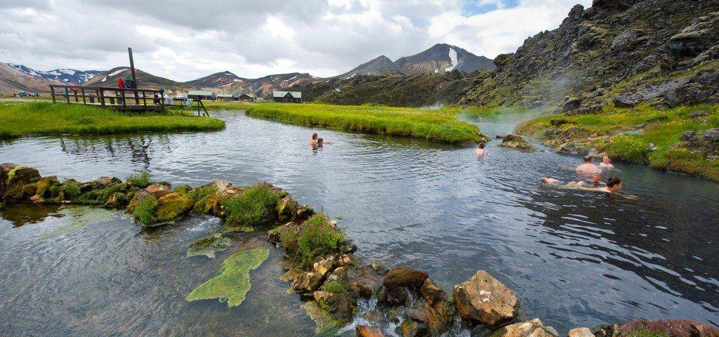 Landmannalaugar Hot Springs Iceland North Europe Travel