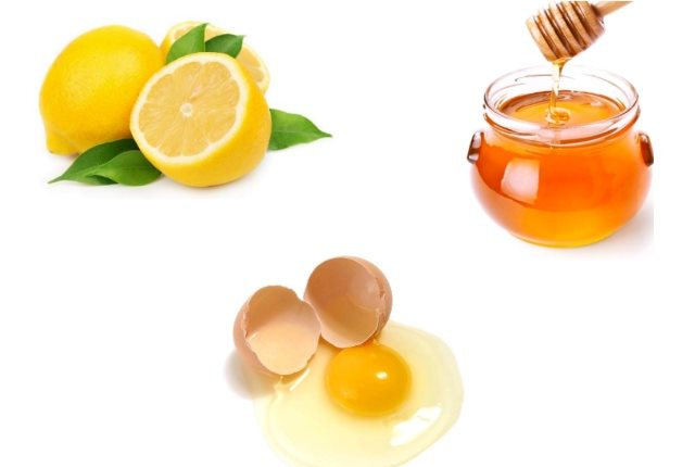 lemon-honey-and-egg-white-pack