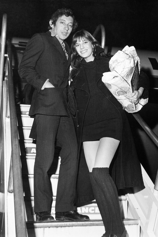 7c36a9d01177 Jane Birkin and Serge Gainsbourg