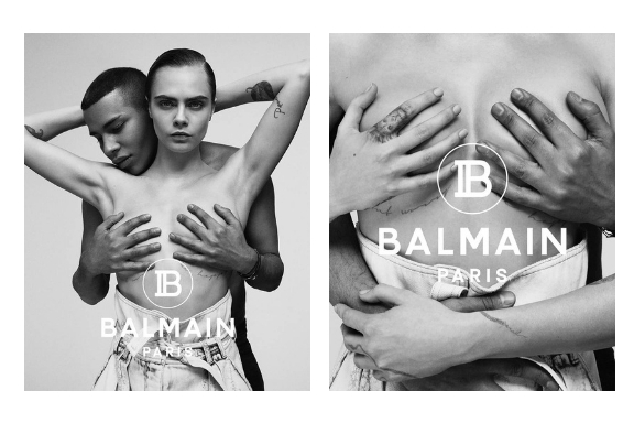 cbde8fdc Cara Delevingne And Olivier Rousteing Pay Homage To Janet Jackson For  Balmain – Armina Mevlani