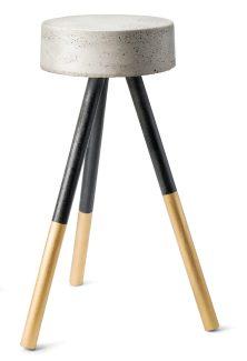 Concrete stool $75 by Allie Croza