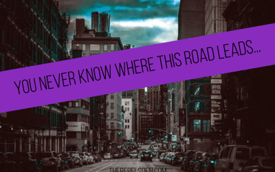 You never know where this road leads