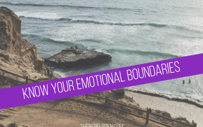 Know your Emotional Boundaries