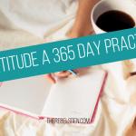 Gratitude a 365 Day Practice