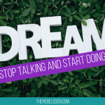 Stop talking and start doing