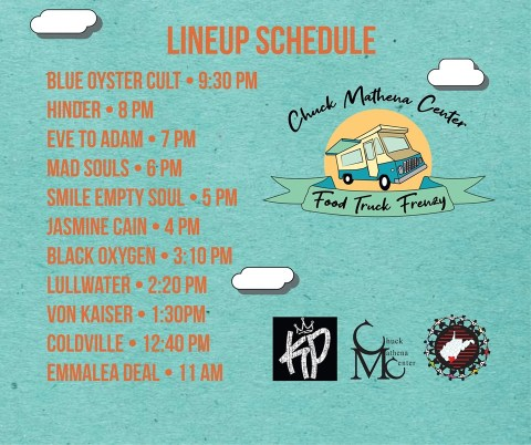 Food Truck Frenzy 2019 Lineup