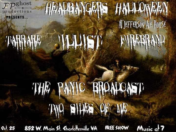 Headbangers Halloween in the 'Ville