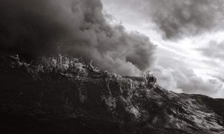 Feelings raging like a storm