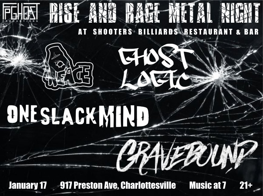 Rise and Rage Metal Night 1-17
