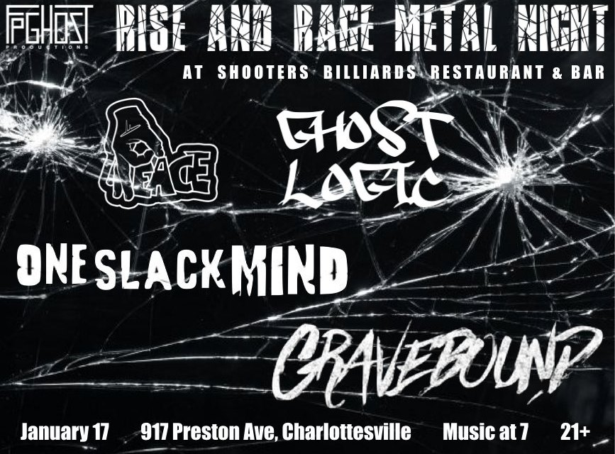 Rise and Rage Metal Night  January 2020