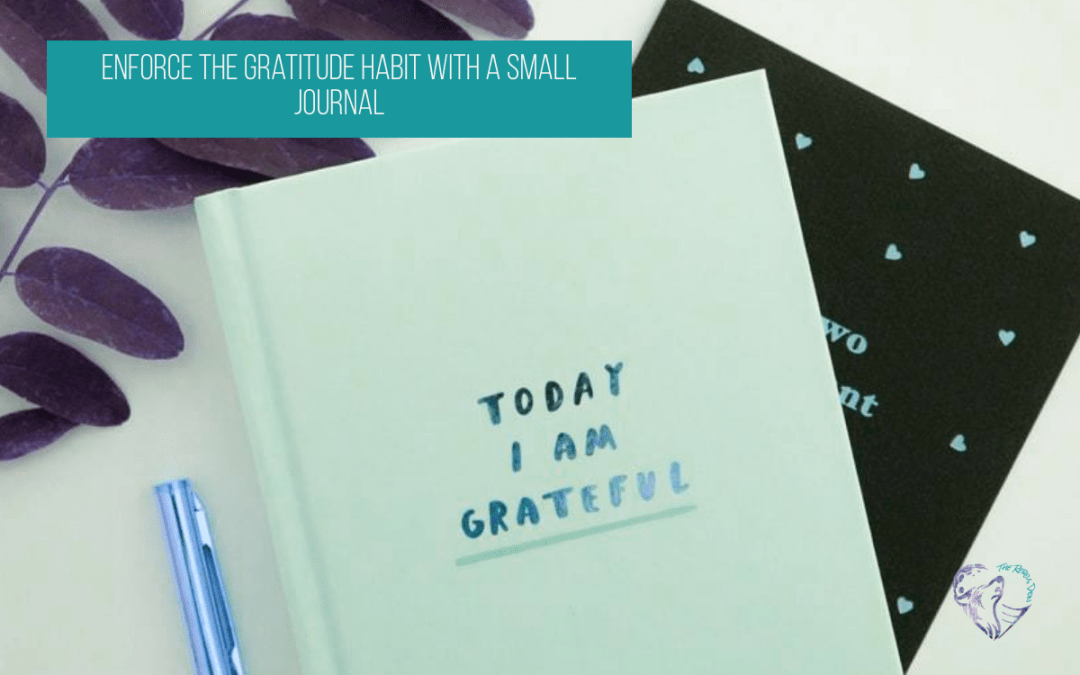 Enforce the Gratitude Habit with a Small Journal