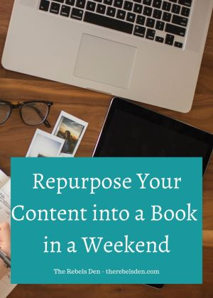 Repurpose Your Content into a Book