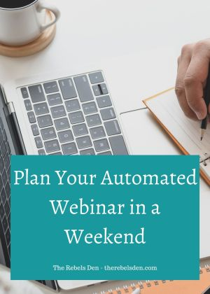 Plan Your Automated Webinar