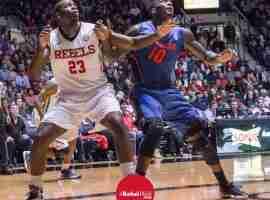 Dwight Coleby readies to rebound