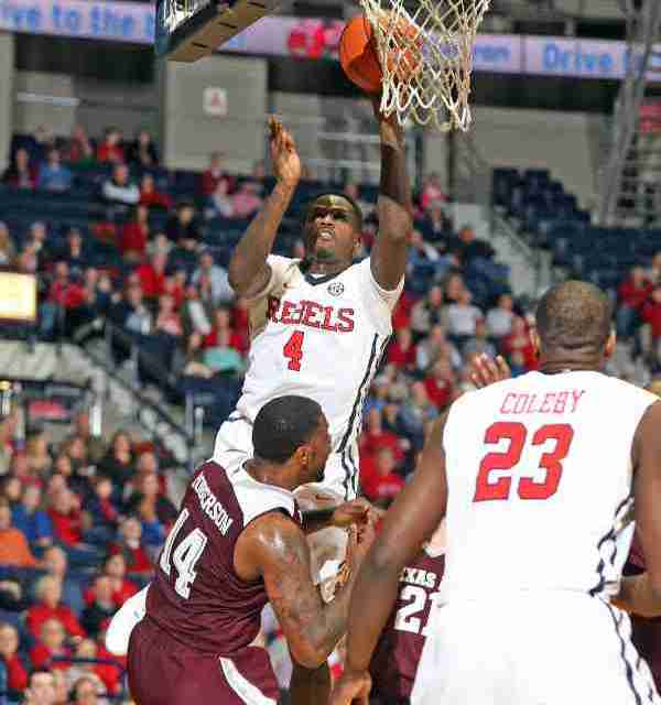 Ole Miss tops A&M 69-59; moves into tie for 2nd in SEC