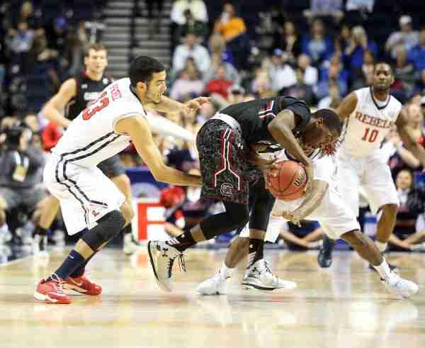 Rebels drop heartbreaker to USC in SEC tourney