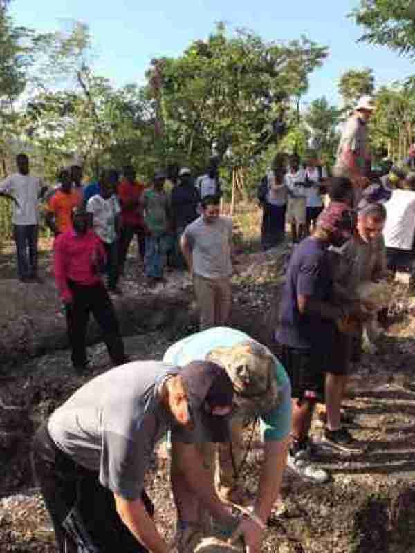 Rebels helping in Haiti