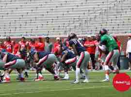 Chad Kelly prepares to take the snap