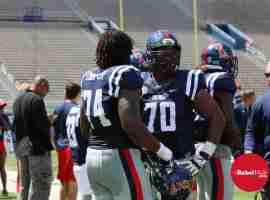 Blue Team OL: Cooper and Sims