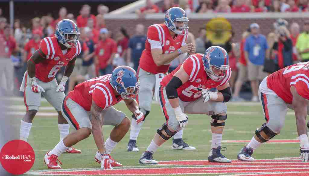 Ole Miss enters New Mexico State game with depleted O-line