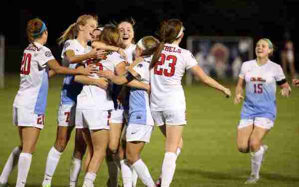 Ole Miss shuts out No. 10 South Carolina 2-0 for 4th SEC win