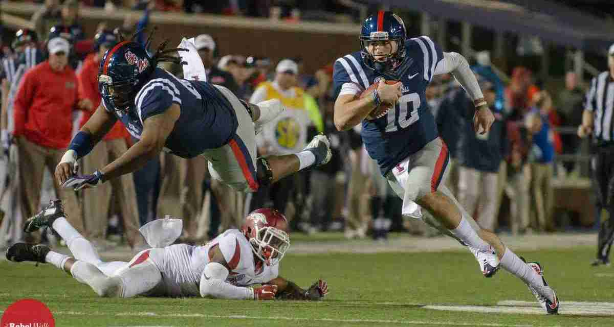 Ole Miss QB Chad Kelly is ready to take the field against LSU