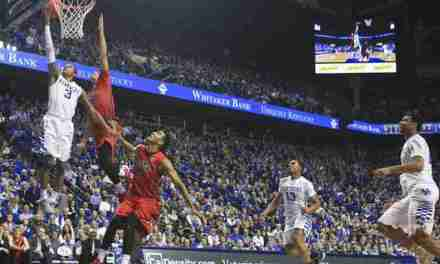 Rebels drop conference game on the road to Kentucky