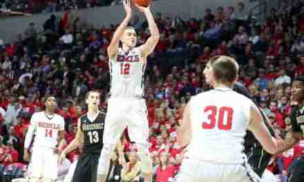 Hot-shooting Tomasz Gielo focused on contributing to an Ole Miss run