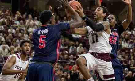 Aggies snap four-game skid with 71-56 win over Ole Miss