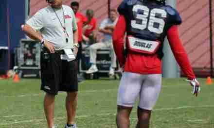 Rebels' defensive back Zedrick Woods ready to build on last season's experience