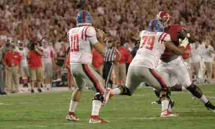 Ole Miss OL Javon Patterson looks forward to the opportunity to face No. 1 Alabama