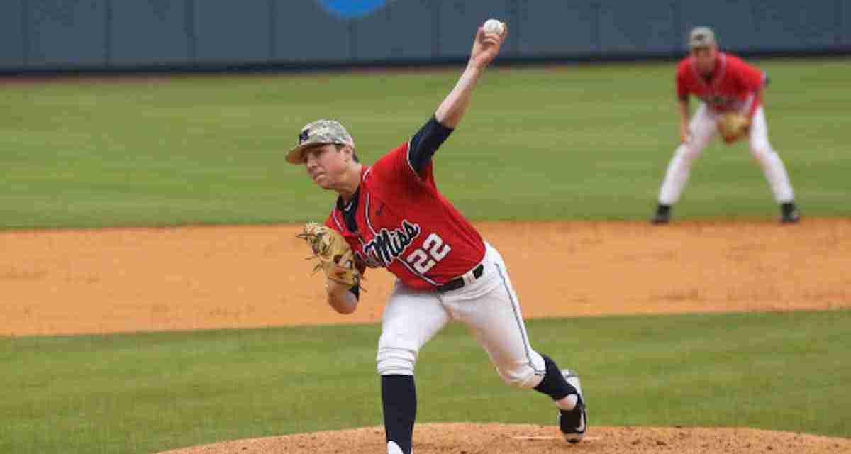 Mike Bianco excited about Rebels' pitching