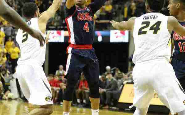 Breein Tyree leads Rebels to overtime win over Missouri