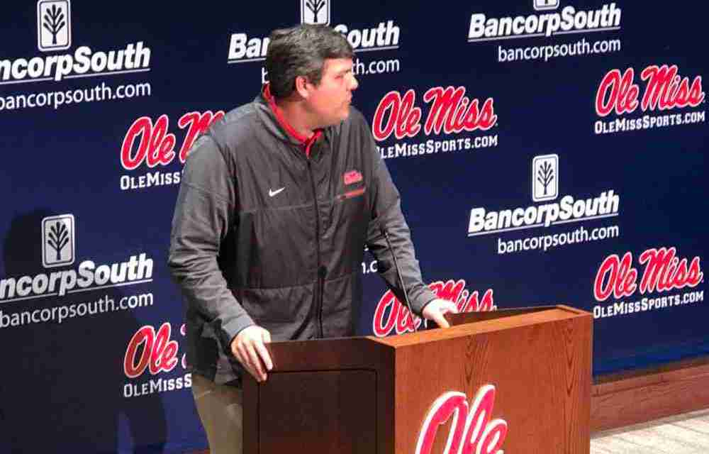 Coach Matt Luke pleased, excited with Rebels' 2018 recruiting class