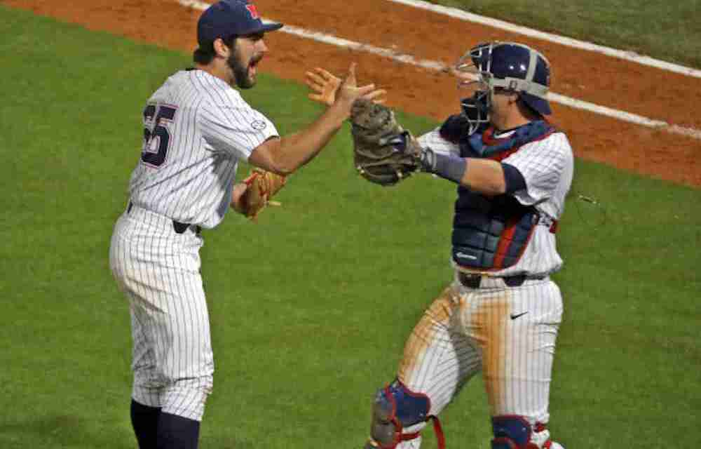 No. 4 Ole Miss wins game two, evens series with No. 5 Arkansas