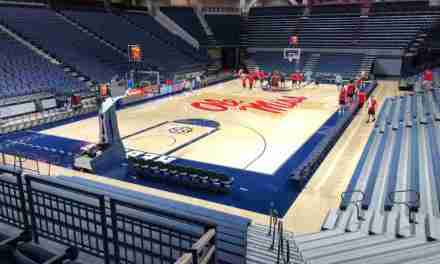 Rebels hit the court Monday for first official practice of Kermit Davis era