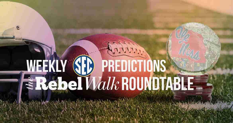 Rebel Walk Roundtable: Week 9 Picks Around the SEC