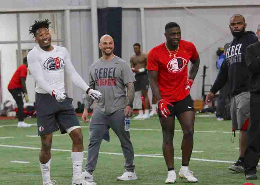 Gallery: Rebels Shine at Ole Miss Pro Day