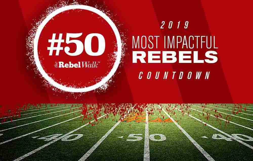 Most Impactful Rebels for 2019: No. 50 Jonathan Mingo