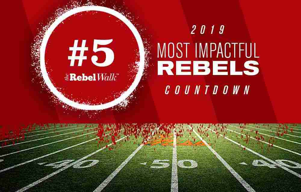 Most Impactful Rebels for 2019: No. 5 Benito Jones